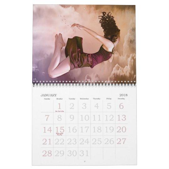 Digital Art by Abie Davis - Collection Calendar