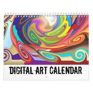 Digital Art Calendar