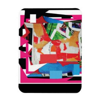 Digital Art Collage Magnet