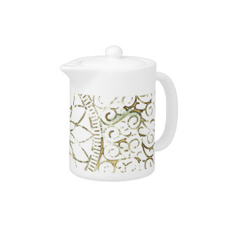 Digital Art Design Tea Pot