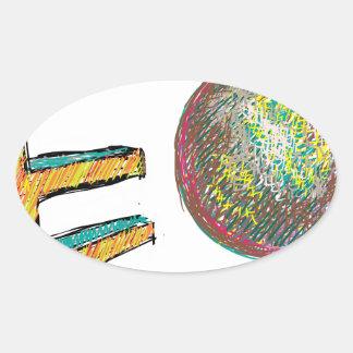 digital art EO 002 Sticker