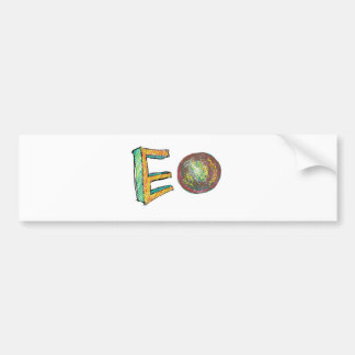 digital art EO Bumper Sticker