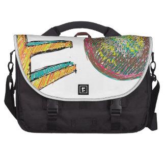 digital art EO Laptop Commuter Bag