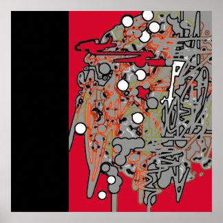 Digital art gallery poster