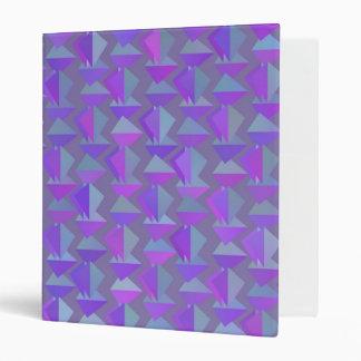 Digital Art Gliftex Abstract Geometric Binder