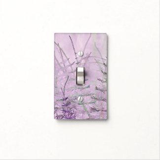 Digital Art Horsetail Stems Light Switch Cover
