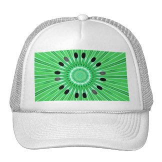 Digital art kiwi trucker hat