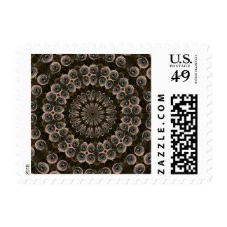 Digital art postage stamp
