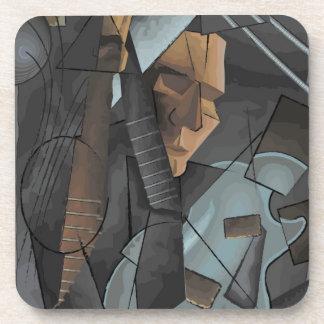 Digital Art - Syncopation Drink Coaster