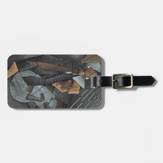 Digital Art - Syncopation Luggage Tag