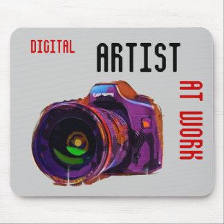 Digital, Artist, AT WORK Mouse Pad