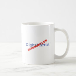 Digital Artist / Disgruntled Coffee Mug