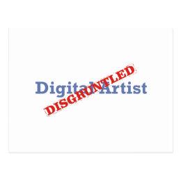 Digital Artist / Disgruntled Postcard