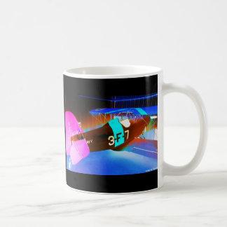 Digital BiPlane Coffee Mugs