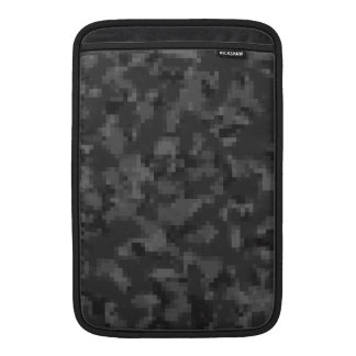 Digital Black Camo MacBook Sleeve