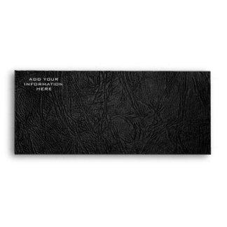 Digital Black Leather Envelope