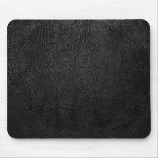 Digital Black Leather Mouse Pad