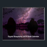 "Digital Blasphemy 2019 Wall Calendar<br><div class=""desc"">12 Months of the best new Digital Blasphemy artwork to enjoy all year round!</div>"