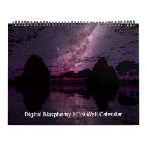 Digital Blasphemy 2019 Wall Calendar