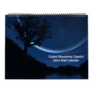 Digital Blasphemy Classics 2019 Wall Calendar