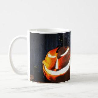 Digital Blasphemy Halloween Classic White Coffee Mug