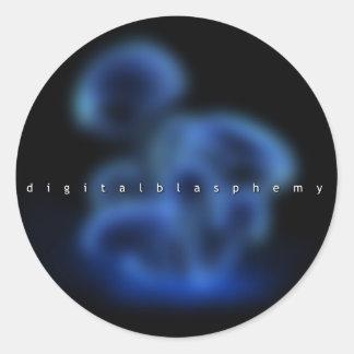 Digital Blasphemy Logo Sticker