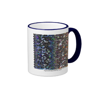 Digital Blasphemy Spectrum Mosaic Coffee Mugs