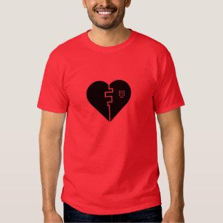 digital broken heart T-Shirt