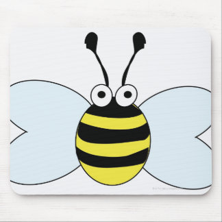 Digital Bumblebee Mouse Pad