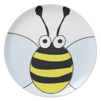 Digital Bumblebee Plate