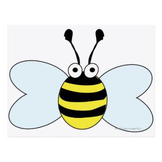 Digital Bumblebee Postcard