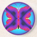 DIGITAL BUTTERFLY.jpg Coaster