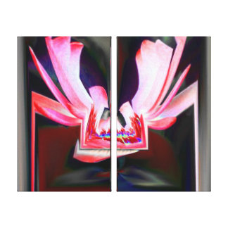 Digital Buttterfly Canvas Print