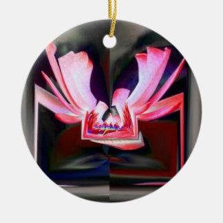 Digital Buttterfly Ceramic Ornament