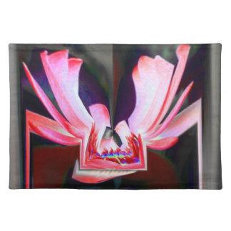 Digital Buttterfly Cloth Place Mat