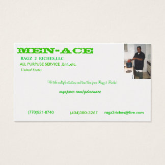 digital camera 080, Men-Ace, United States , (7... Business Card