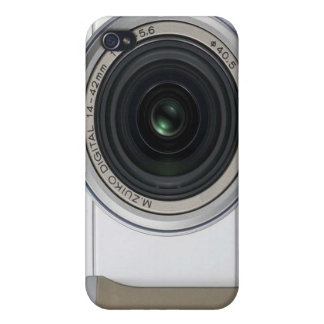 Digital Camera iPhone 4/4S Case Cover - White