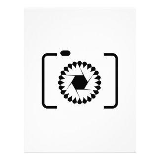 Digital Camera Customized Letterhead