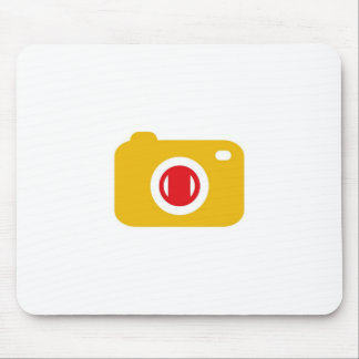 Digital camera mouse pad