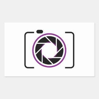 Digital Camera Rectangular Sticker