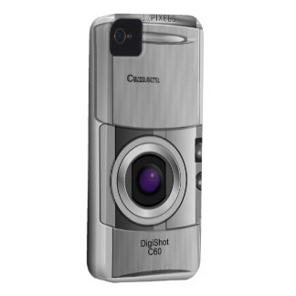 Digital camera style custom case iPhone 4 Case-Mate cases