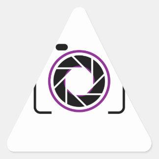 Digital Camera Triangle Sticker