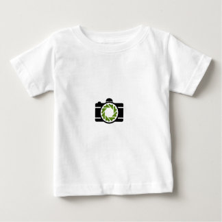 Digital camera with a green aperture baby T-Shirt