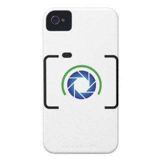 Digital camera with a round aperture Case-Mate iPhone 4 cases