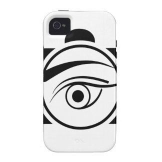 Digital Camera with an eye Case-Mate iPhone 4 Cases