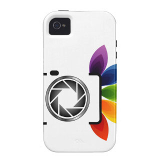 Digital camera with colorful leaves iPhone 4 covers
