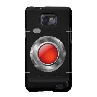 Digital camera with red aperture samsung galaxy SII case