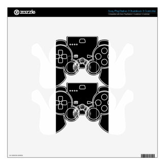 Digital camera with silver aperture skins for PS3 controllers