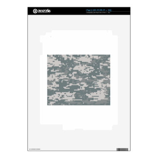 Digital Camo Decal For iPad 2