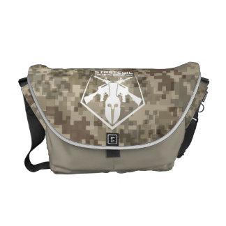 Digital Camo Shoulder Bag